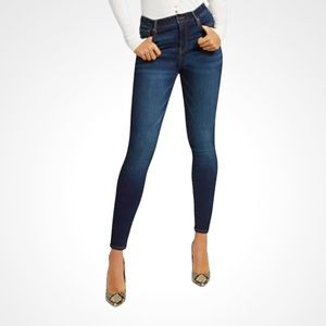 🌸Soho🌸 Women's Jeggings Sz 2 Blue Stretch Cotton